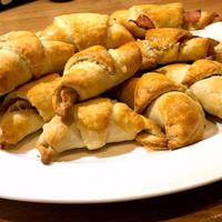 Thumbnail image for the Crescent Rolls with Ham and Cheese recipe.